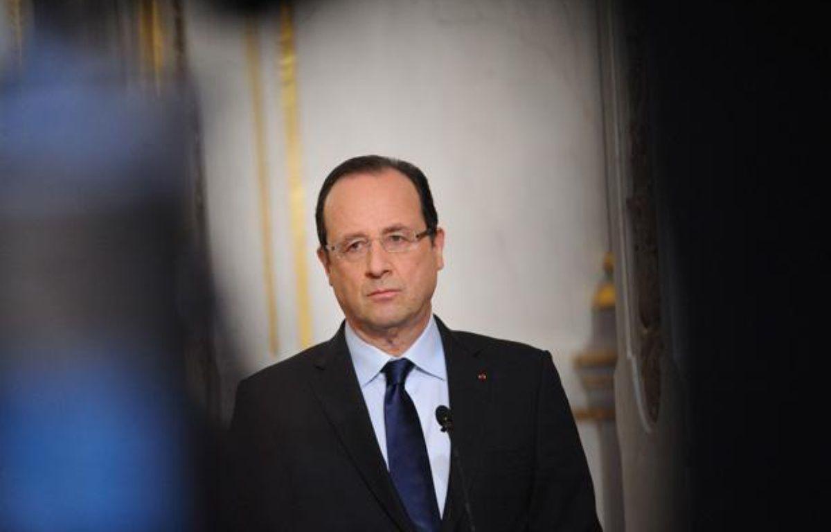 François Hollande le 19 avril 2013 à Paris. – WITT/SIPA