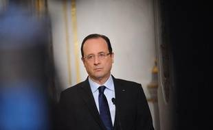 François Hollande le 19 avril 2013 à Paris.