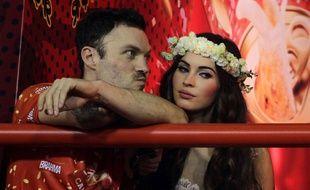 Brian Austin Green et Megan Fox en janvier 2013 à Rio