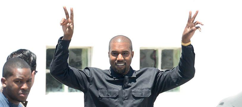 Le rappeur Kanye West