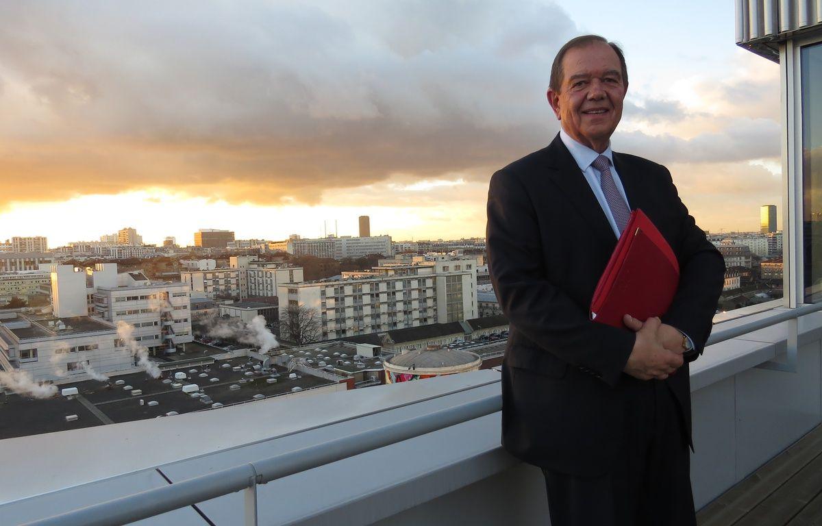 Patrick Ollier, président de la Métropole du Grand Paris, le 5 janvier 2017. – R. Lescurieux / 20 Minutes