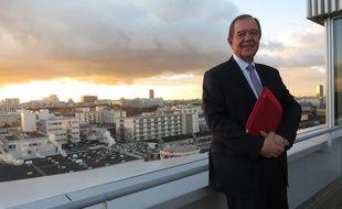 Patrick Ollier, président de la Métropole du Grand Paris, le 5 janvier 2017.