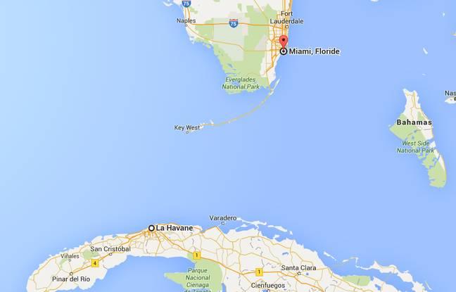 Le détroit de Floride