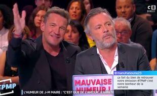 Benjamin Castaldi n'a  pas apprécié les remarques de Jean-Marc Morandini.