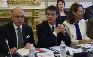 Manuel Valls a réuni tous les ministres concernés pour faire le point sur les intempéries