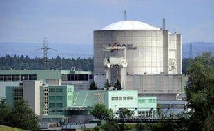 La centrale de Beznau, la plus vieille centrale nucléaire suisse, le 22 mai 2011