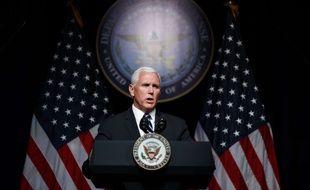 Le vice-président américain Mike Pence le 10 août 2018