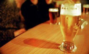 Illustration alcool, bière.