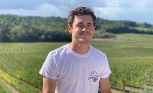 Le cycliste girondin, Thomas Boudat, organise sa première randonnée sur le domaine viticole familial.