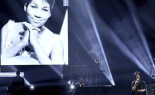 Gladys Knight a repris «Amazing Grace» afin de rendre hommage à Aretha Franklin le 9 octobre aux American Music Awards 2018.