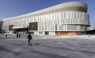 La U Arena à Nanterre, nouvelle salle de spectacles à proximité de Paris dont la jauge peut aller de 17.000 à 40.000 spectateurs.