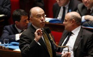 Le ministre de l'Intérieur, Bernard Cazeneuve à l'assemblée, le 19 novembre 2015