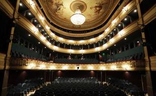 Le théâtre du Gymnase à Marseille