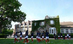 Les Bleues sont installées à Clairefontaine jusqu'au premier match contre la Corée du Sud.