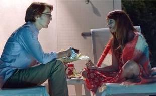L'écrivain (Paul Dano) et son héroïne devenue bien réelle (Zoe Kazan).