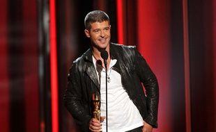 Robin Thicke, au Billboard Music Awards à Las Vegas, le 18 mai 2014.
