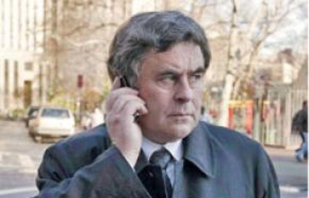 L'avocat, Frédérik Canoy. –  SUMPTION / SIPA