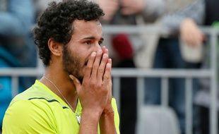 Laurent Lokoli le 28 mai 2014 à Roland-Garros.