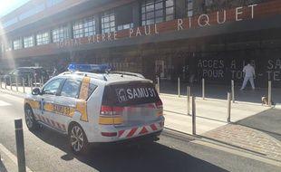 Les urgences de l'hôpital Purpan à Toulouse. Illustration.