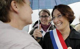La députée du Calvados Isabelle Attard, le 24 juin 2012.