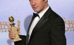 Jean Dujardin lors de la cérémonie des Golden Globes, le 15 janveir 2012, à Los Angeles