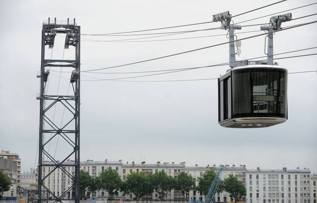 Le téléphérique urbain à Brest