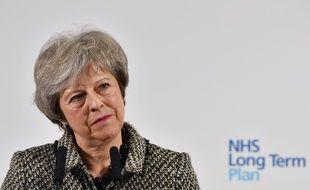 La première ministre britannique Theresa May, le 7 janvier 2019.