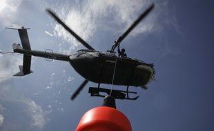 Photo d'illustration d'un hélicoptère du peloton de gendarmerie de haute montagne (PGHM).