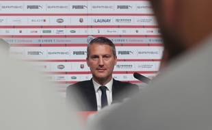 Le président du Stade Rennais Olivier Létang, ici en septembre 2018.