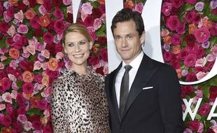 L'actrice Claire Danes et son mari Hugh Dancy, le 10 juin 2018 à New York.