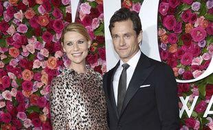 L'actrice Claire Danes et son mari Hugh Dancy, le 10 juin 2018 à New York.