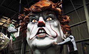 Cédric Pignataro avait transformé Donald Trump en clown terrifiant en 2019