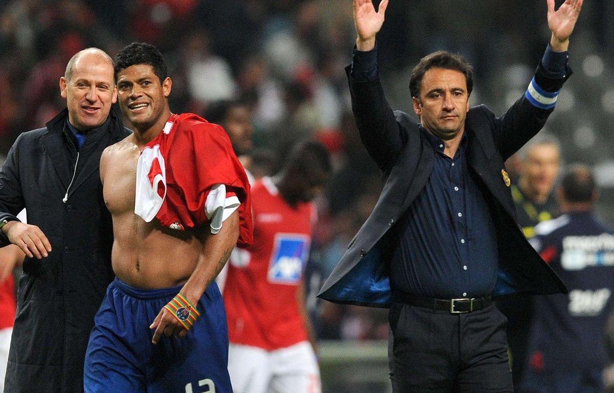 Antero Henrique, à gauche sur la photo, est au PSG. –  Paulo Duarte/AP/SIPA
