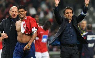Antero Henrique, à gauche sur la photo, va être le nouveau directeur sportif du PSG pour la saison 2017-2018.