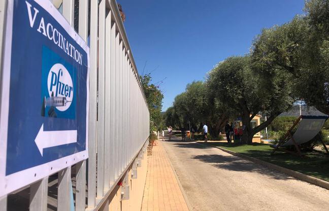 Un centre de vaccination éphémère a été installé dans l'un des plus grands campings du Var, à Bormes-les-Mimosas