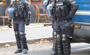 Plusieurs dizaines de lycéens sont mobilisées ce lundi à Lyon à l'appel de l'UNL. Illustration.