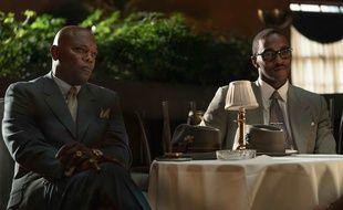 Samuel L. Jackson et Anthony Mackie dans « The Banker».