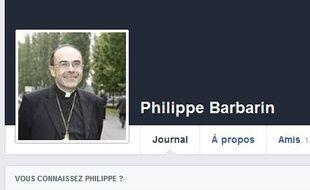 Depuis le 21 novembre, un faux compte a été créé sur Facebook au nom du cardinal Barbarin.