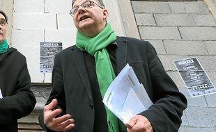 Le candidat écologiste Alain Jund.