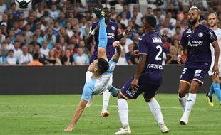 Au match aller, Lucas Ocampos et l'Olympique de Marseille avaient écras le TFC de Kelvin Amian et John Bostock (4-0), le 10 août 2018 au Stade Vélodrome.