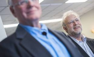 Jerry Greenfield (à droite), cofondateur des glaces Ben & Jerry's, et signataire de la lettre ouverte.