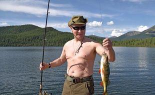 La pêche, ça le détend.