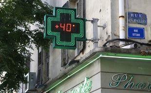 Habituellement, c'est plutôt en juillet-août que le mercure dépasse les 40 degrés en Corse-du-Sud. (archives)