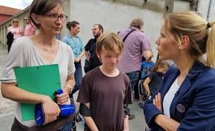 Tiphaine Auzière, candidate suppléante de LREM dans la 4e circonscription du Pas-de-Calais. - M.Libert / 20 Minutes