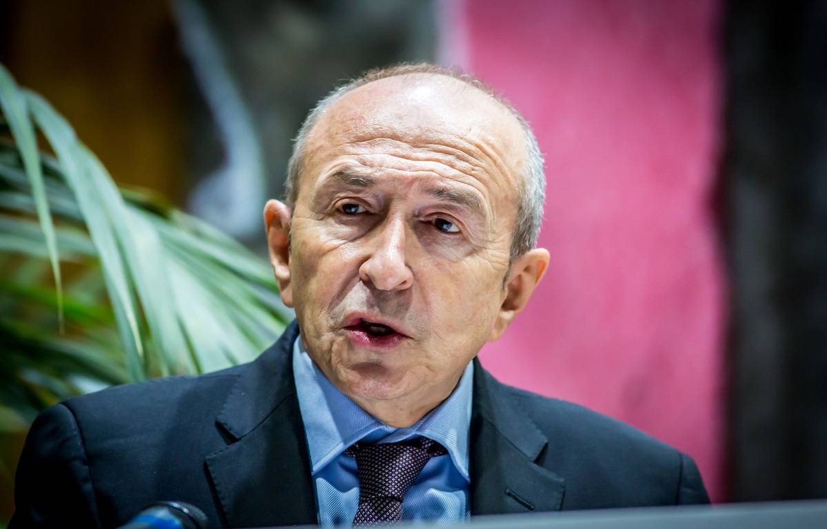 Gérard Collomb, le maire de Lyon, le 5 février 2016. Crédit:KONRAD K./SIPA – SIPA