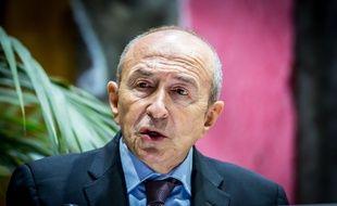 Gérard Collomb, le maire de Lyon, le 5 février 2016. Crédit:KONRAD K./SIPA