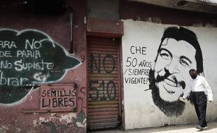 Un portrait de Che Guevara sur un mur le 30 juin 2020 (illustration).
