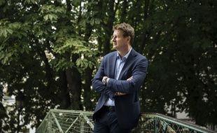 Portraits du député Europeen Europe Ecologie les Verts (EELV)Yannick Jadot, à Paris, le 03 juillet 2020.
