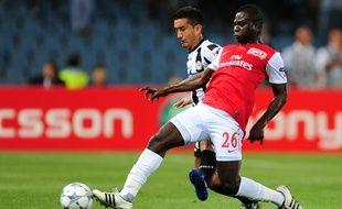 Le Ghanéen Emmanuel Frimpong sous le maillot d'Arsenal en 2011.