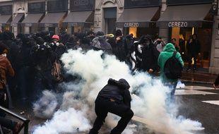 La manifestation du 21 février à Toulouse a dégénéré. Archives.